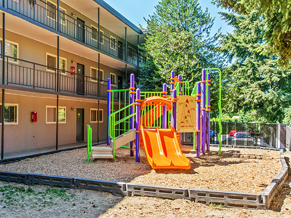 Montrose Apartments play area