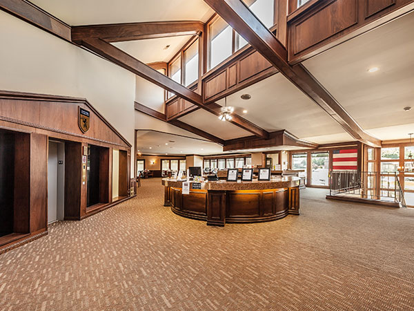 Lobby at Castle Point Apartments, South Bend, IN