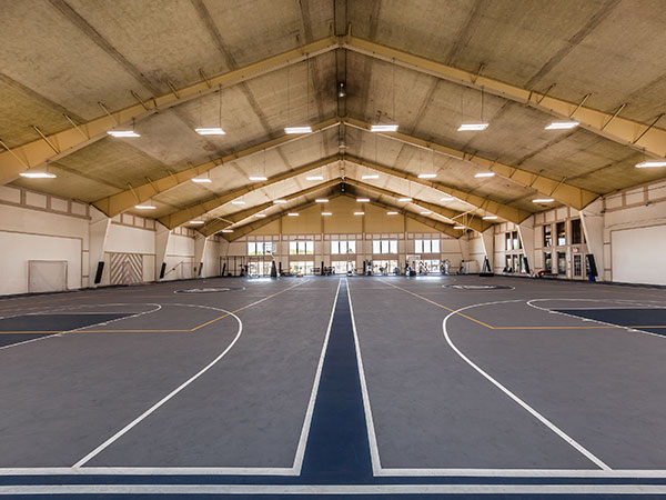 Sports court at Castle Point Apartments, South Bend, IN