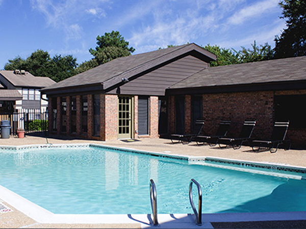 Pool at Chelsea Creek Apartment Homes, Tyler TX