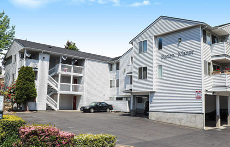 Burien Manor, Apartment complex owned by Odyssey Investments